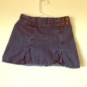 Set of two jean skirts!! EUC and super cute!